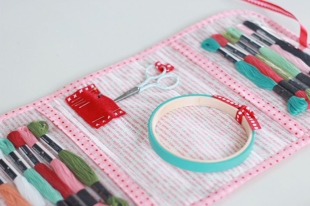 15 Diy Travel And Organizing Kits For Your Embroidery