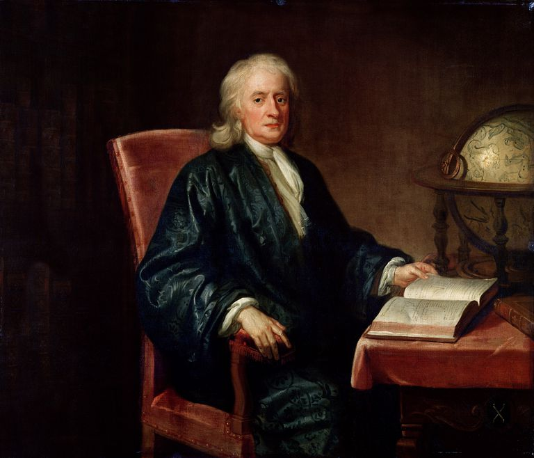 Newton's laws of motion are named for Sir Isaac Newton (1642-1727).