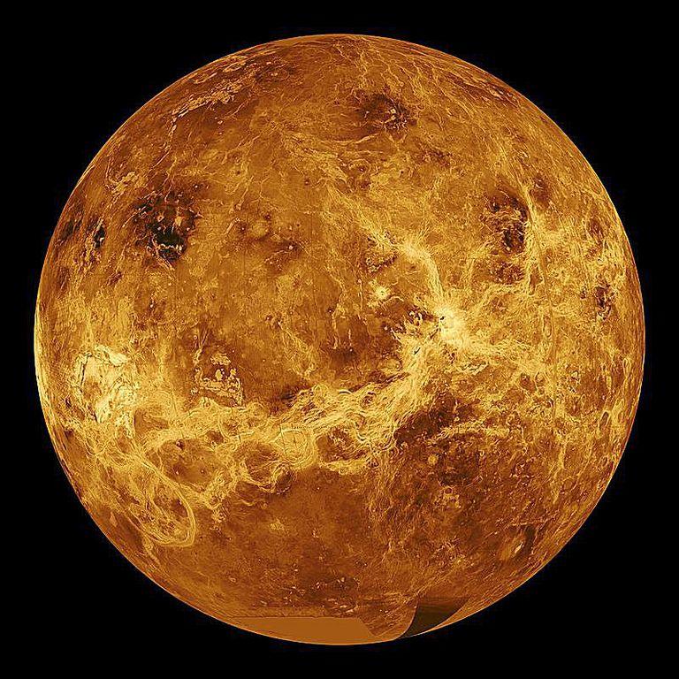 Venus radar view