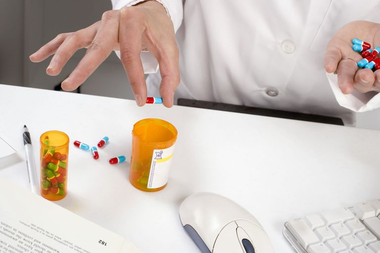 Phamacist sorting pills