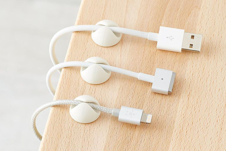 BlueLounge CableDrops Adhesive Cable Clips