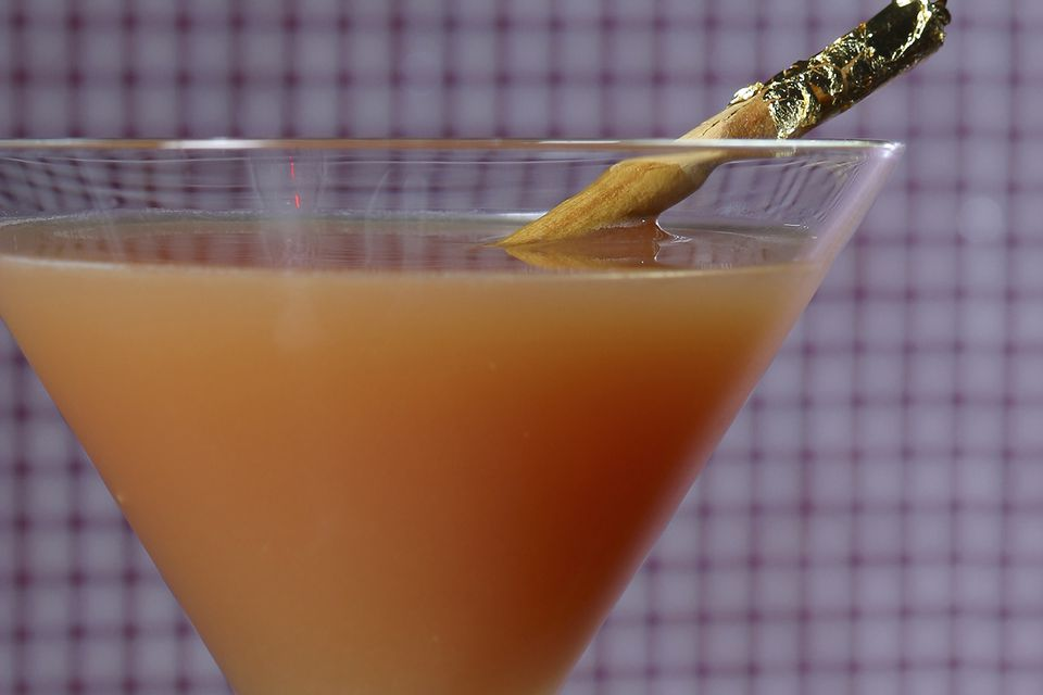 Spiced Pumpkin Cocktail With Pumpkin Pie Vodka