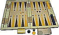 Backgammon - Board Game from Elliott Avedon Museum