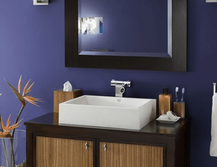 Find the Perfect Paint Color for Your Small Bathroom. How to Make a Small Bathroom Look Bigger