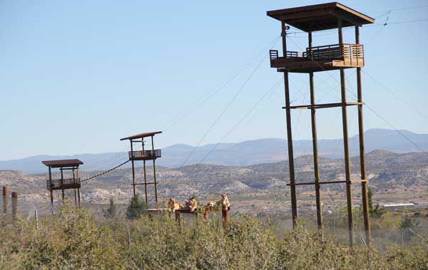 Predator Zip Line at Out of Africa