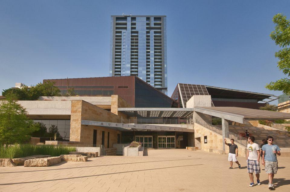 City Hall in Austin, TX