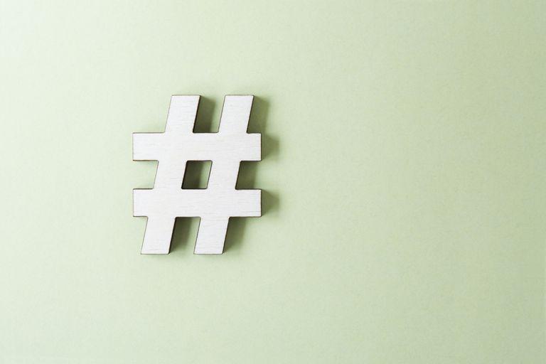 Uso de hashtag en Internet