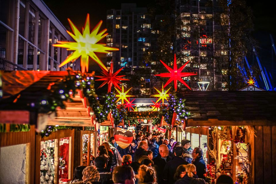 Vancouver Winter Shopping