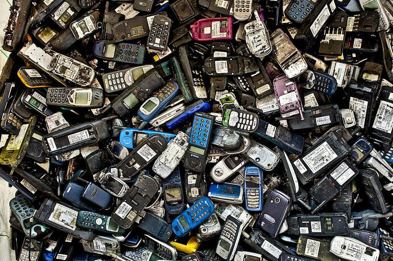 Obsolete mobile phones