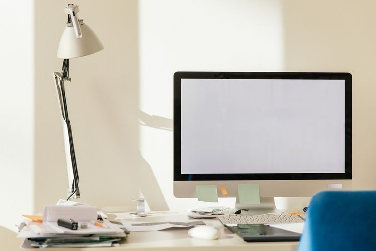 Using a desk lamp at the office can help prevent headaches.