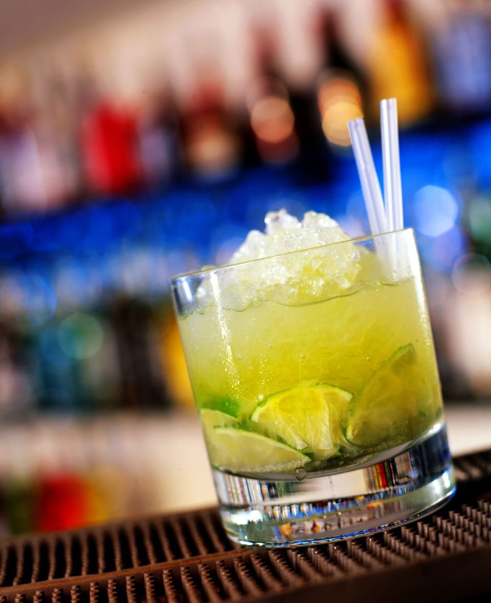 Caipirinha Cocktail With Cachaca