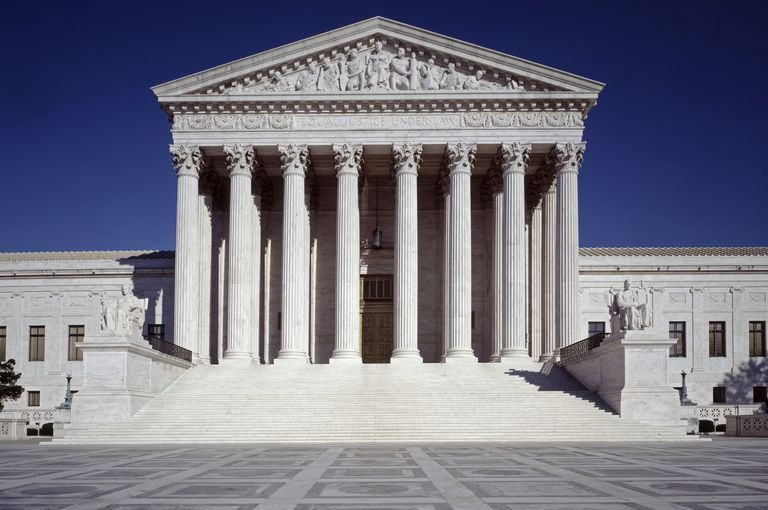 US Supreme Court building West Entrance