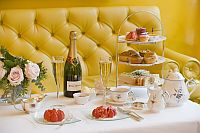 Champagne Afternoon Tea on the Terrace at The Goring, London