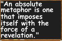 absolute metaphor