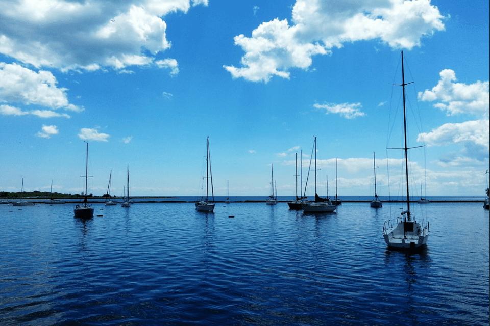 Buffalo waterfront.