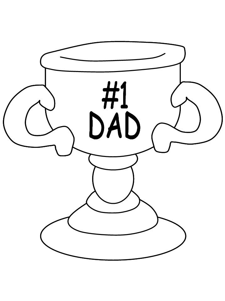 169 free printable fathers day coloring pages - Dad Coloring Pages