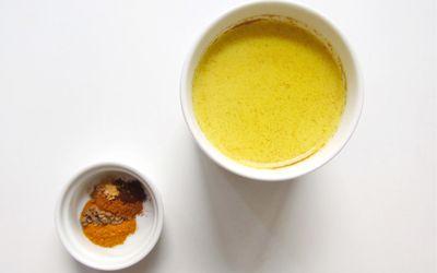 5 Spice Honeyed Golden Milk