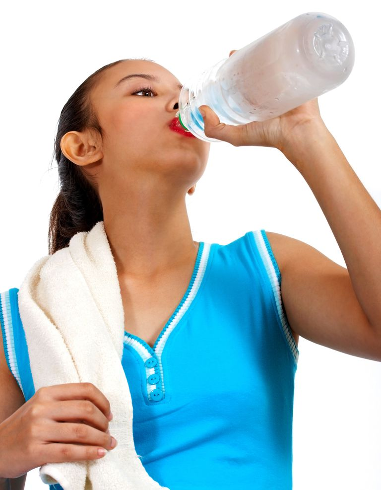 Drinking water can help you stay focused and on task.