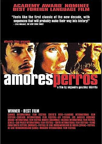 DVD de Amores perros.