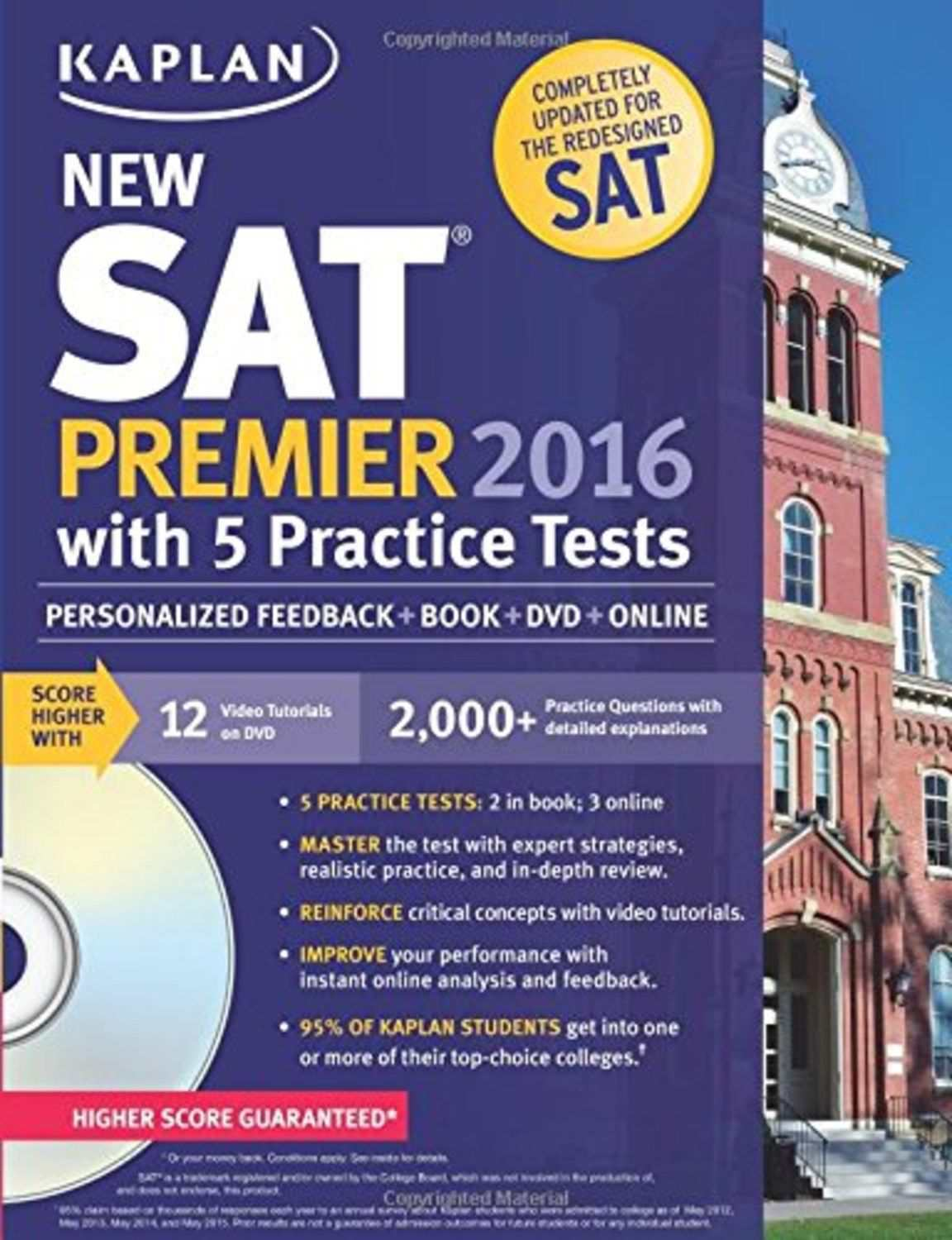 Workbooks kaplan sat math workbook : The Top 3 Books for the New SAT in 2016