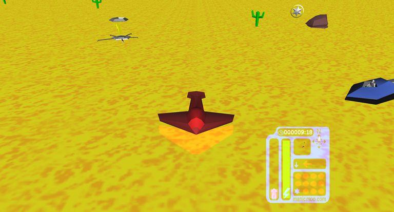 3D Desert Run - Free PC Game