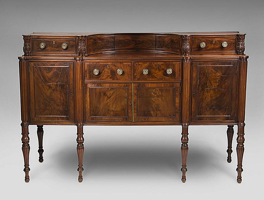 Woods Used in Sheraton Style Pieces - How To Identify Sheraton Style Antique Furniture