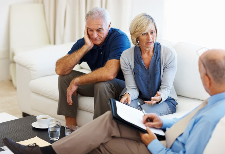 Retired couple deciding if they still need life insurance.