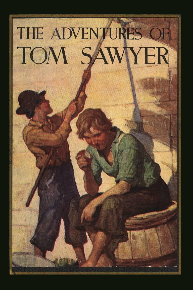 """The Adventures of Tom Sawyer"" by Mark Twain"