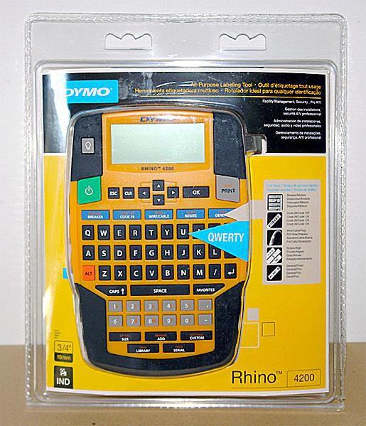 DYMO Rhino 4200 Industrial Label Printer - Package
