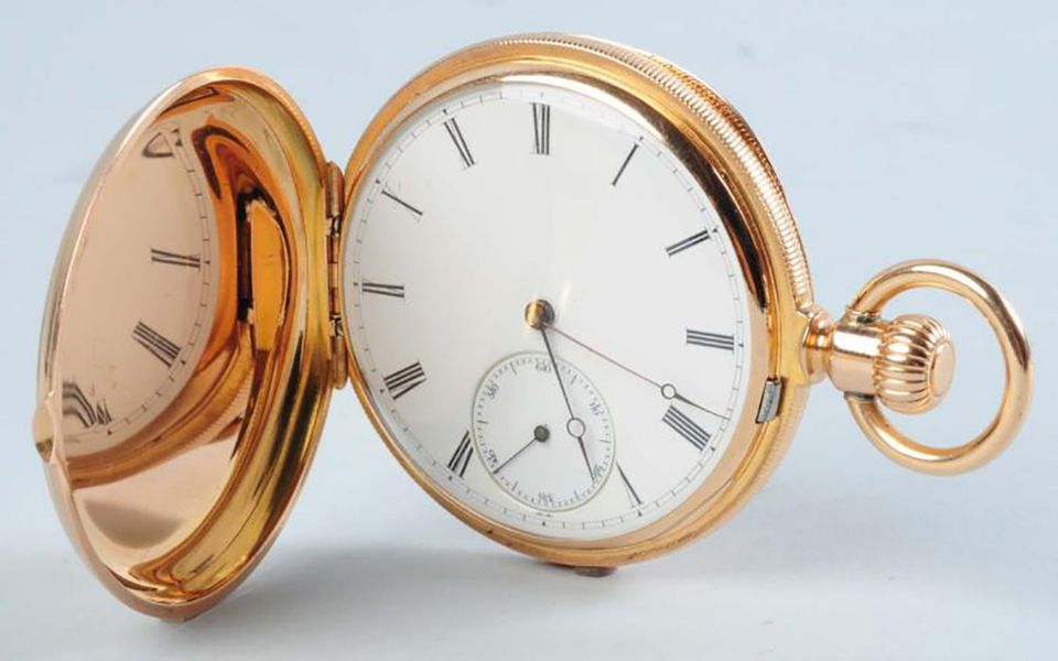 Patek Philippe 18K Yellow Gold Pocket Watch Hunting Case. Case No. 2089. Condition (Excellent).