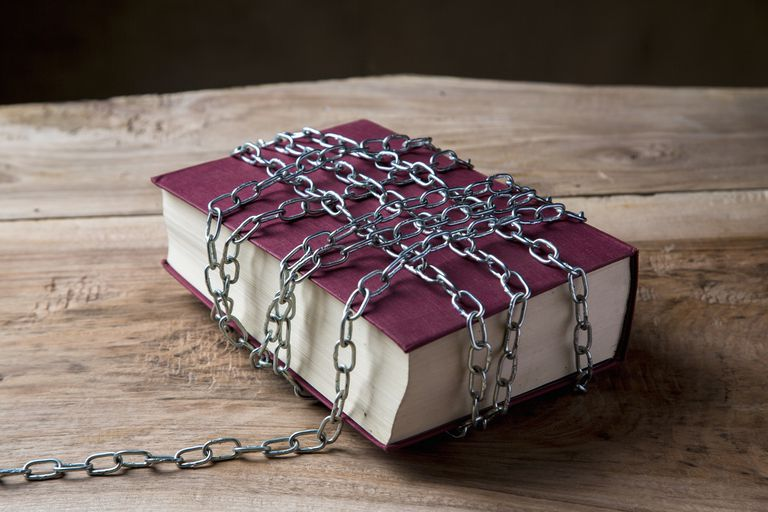 Book Censorship - Photo of Book in Chains