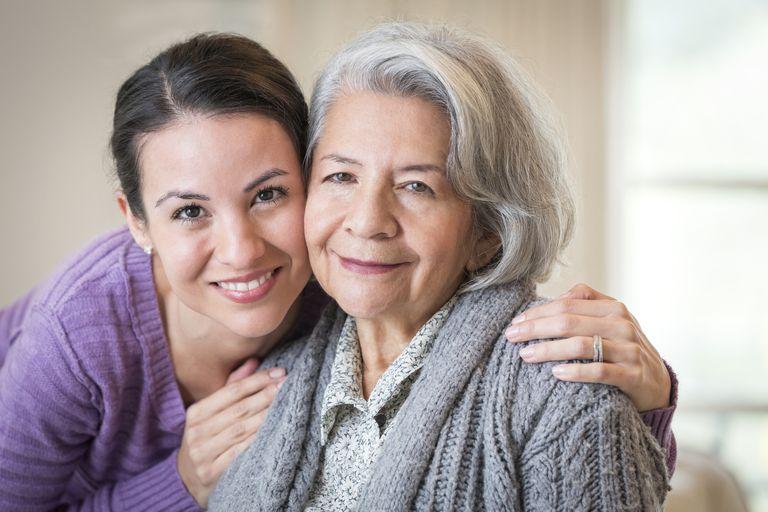 Senior and Daughter
