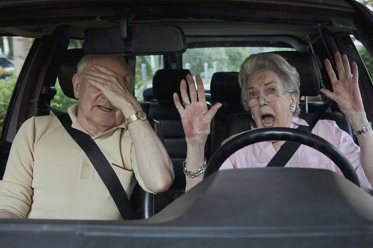scared drivers