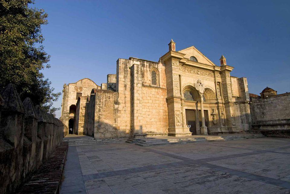 Cathedral of Santa Maria la Menor, Santo Domingo, Dominican Republic.
