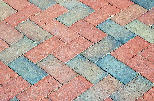 Photos Of Brick Patterns Basketweave Herringbone Etc