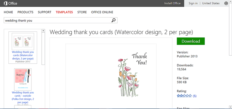 Make Wedding Planning Easier Using Microsoft Office – Microsoft Thank You Card Template
