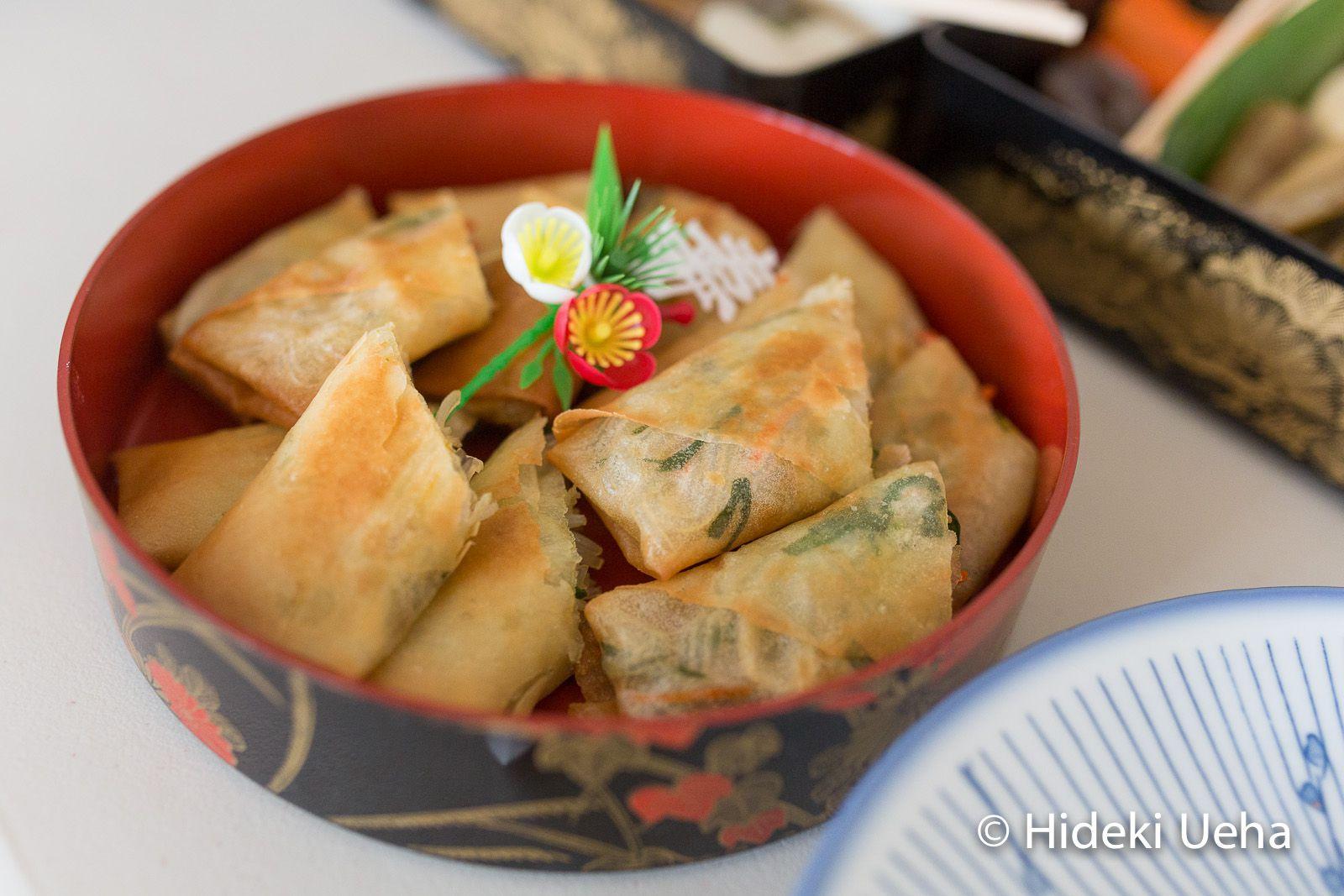 Vegetable Harumaki Fried Spring Roll Recipe