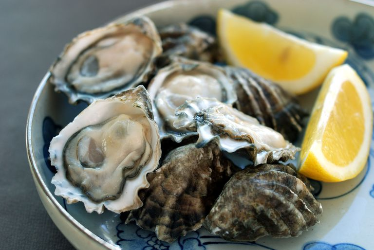 Oysters are good for your health.