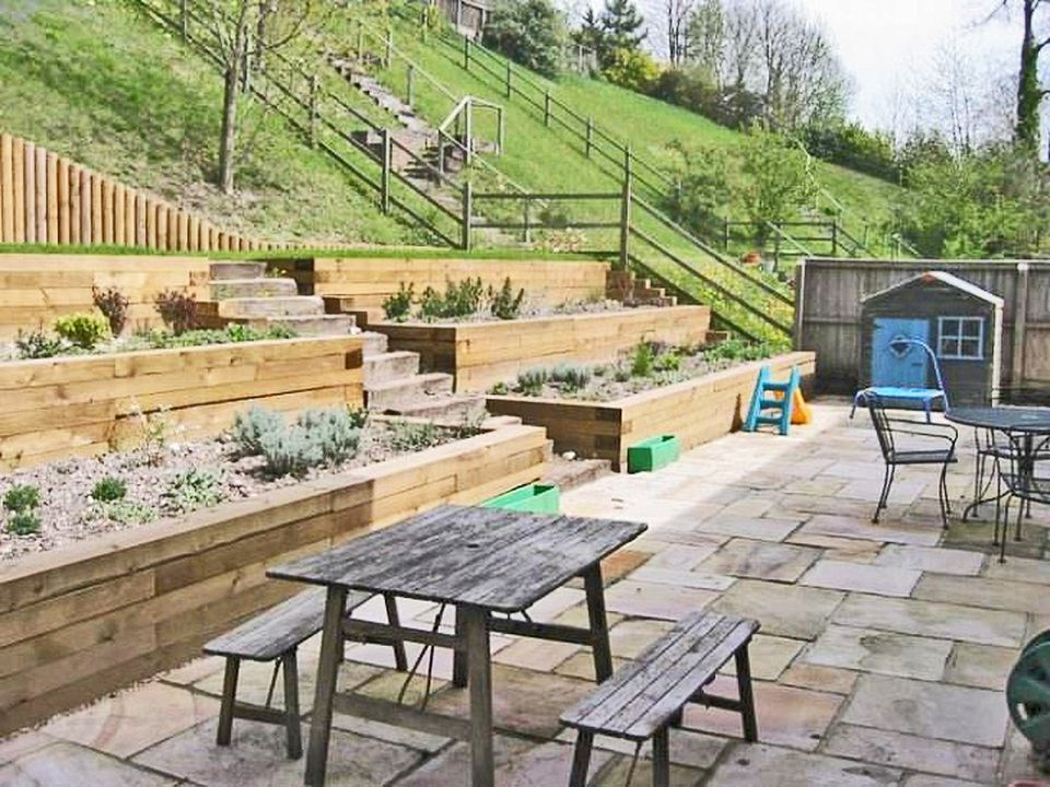 13 Hillside Landscaping Ideas to Maximize Your Yard on Terraced Backyard Ideas id=71605