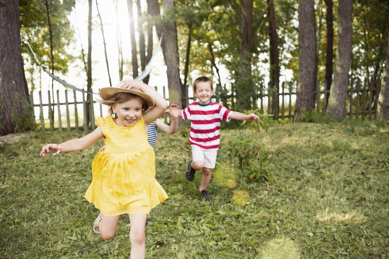 Kids running in garden at risk for heat rash