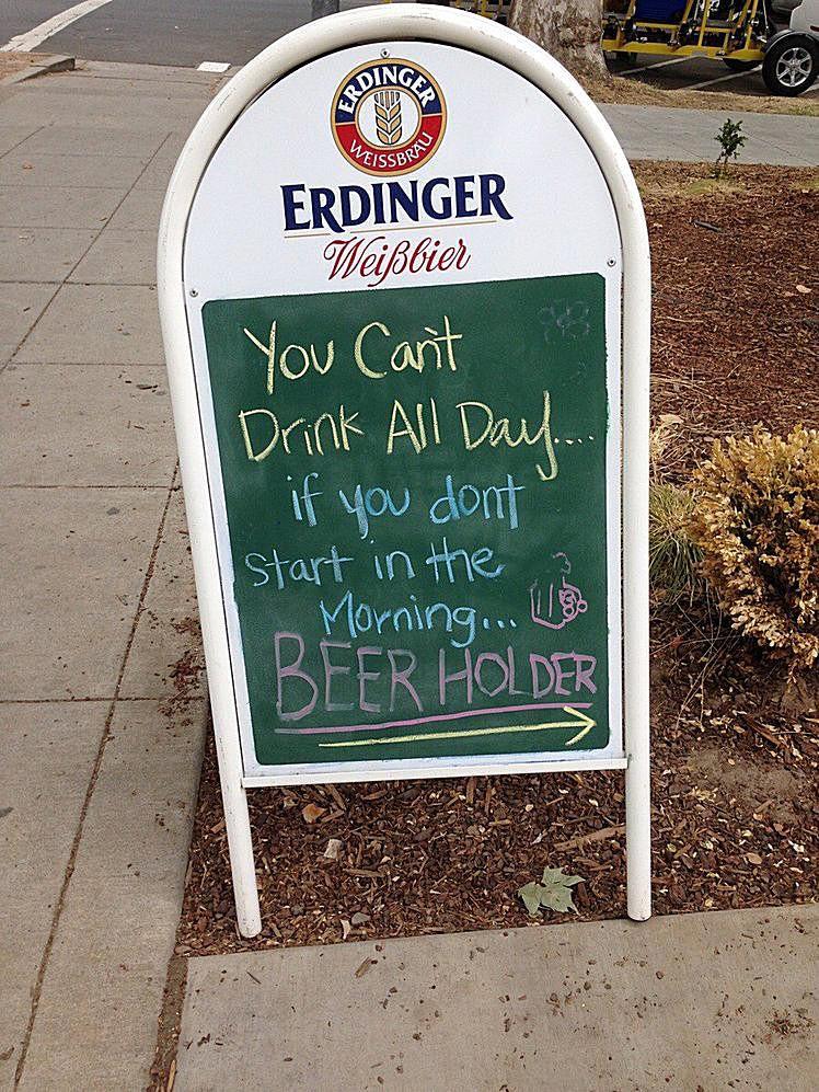 20 Very Funny Chalkboard Bar Signs