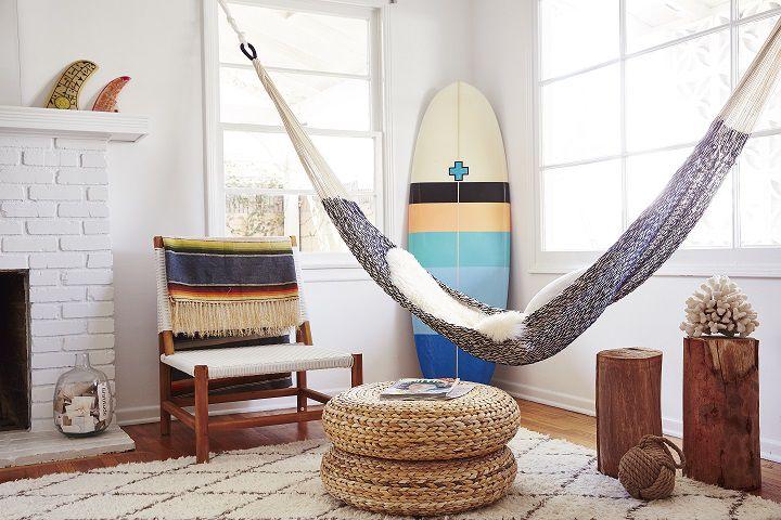6 Stylish Ways To Decorate With Indoor Hammocks