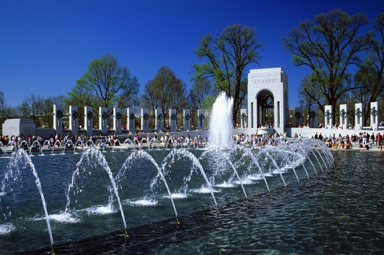 World War II Memorial, Washington DC, USA