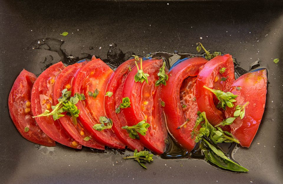 tomatoes and olive oil