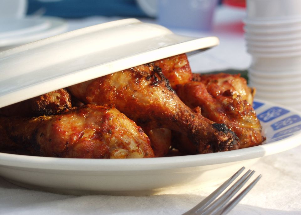 Barbecue Chicken Legs