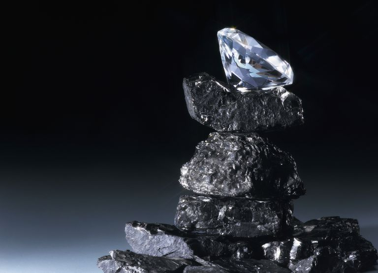 The Carbon Chemistry and Crystal Structure of Diamonds