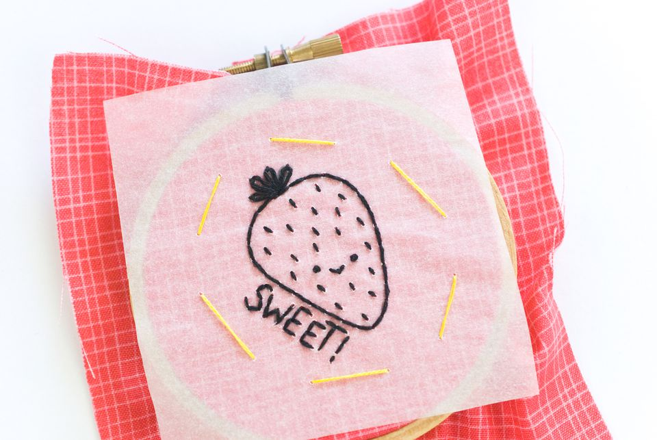 How to Transfer Patterns with Tracing Paper