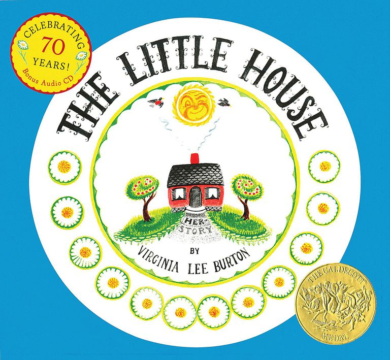 The Little House by Virginia Lee Burton - book cover