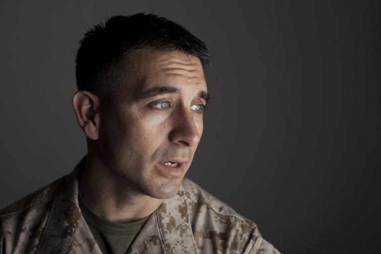 Depressed Marine