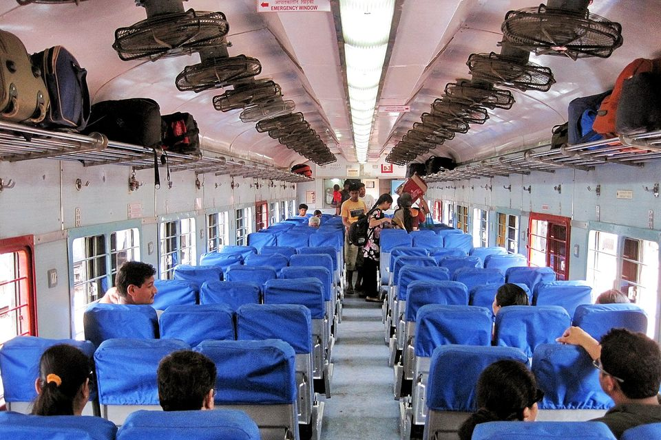 Best Way To Clean Car Seats >> Indian Railways Classes of Travel on Trains (with Photos)